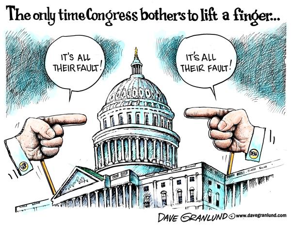 Congress-blame-game