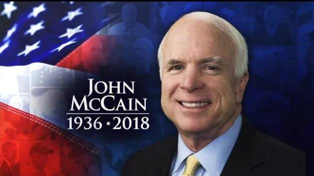 Navy Veteran and Senator John McCain